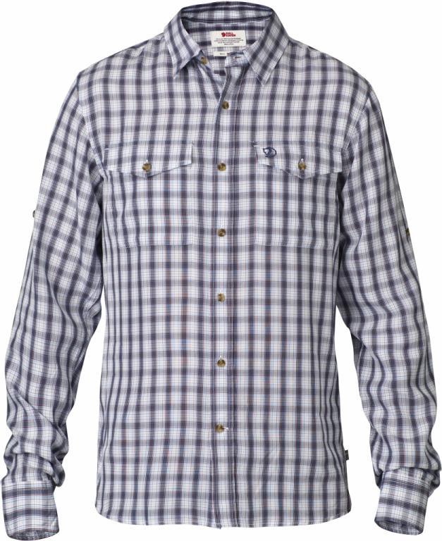 fjellreven abisko cool shirt ls - bluebird