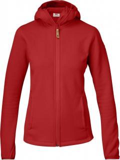 fjellreven abisko hoodie dame - red