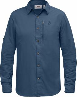 fjellreven abisko hike shirt ls - uncle blue