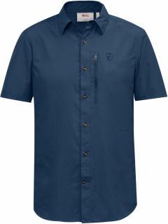 fjellreven abisko hike shirt ss - uncle blue