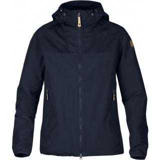 fjellreven abisko hybrid jakke dame - dark navy