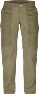 fjellreven abisko hybrid zip off trousers dame - cork