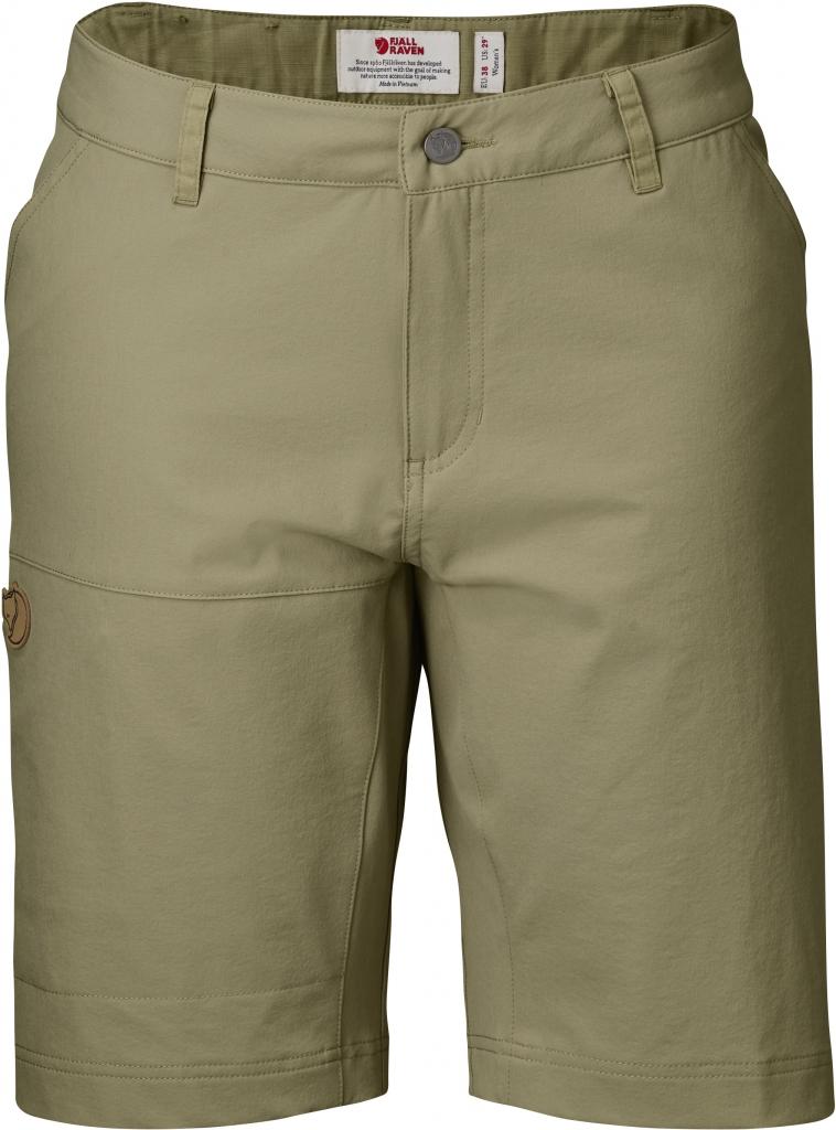 fjellreven abisko lite shorts dame - cork