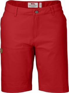 fjellreven abisko lite shorts dame - red