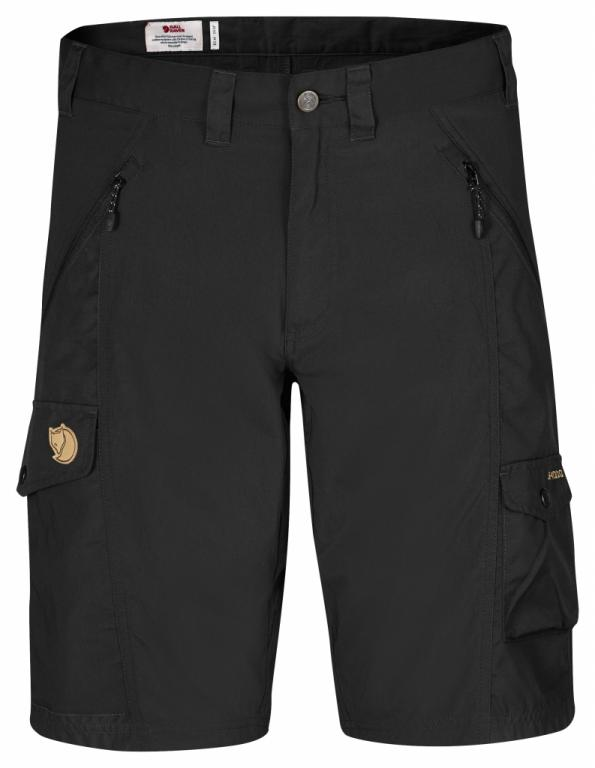 fjellreven abisko shorts - black