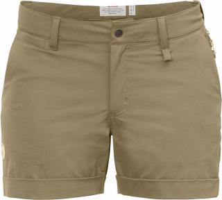 fjellreven abisko stretch shorts dame - sand