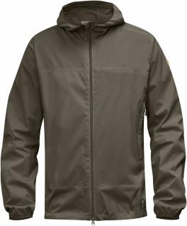 fjellreven abisko windbreaker jacket - tarmac