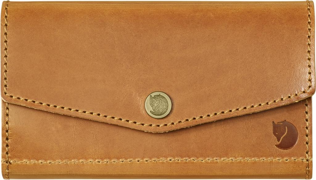 fjellreven bullet case - leather cognac