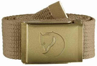 fjellreven canvas brass belt 4cm - sand