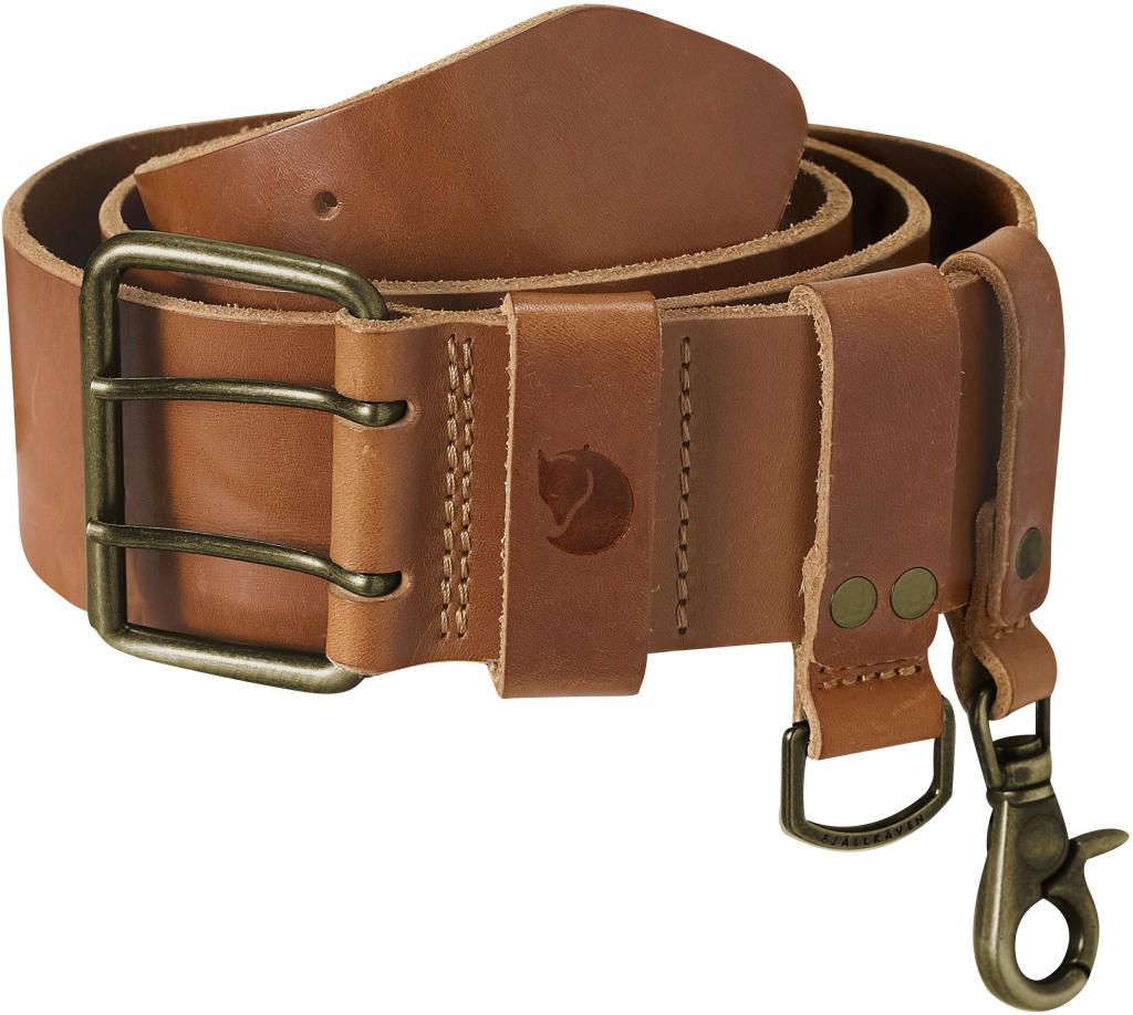 fjellreven equipment belt - leather cognac