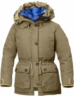 fjellreven expedition down parka no.1 dame - sand