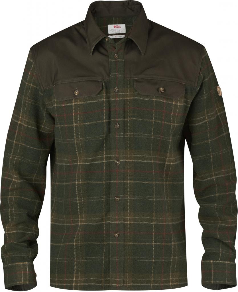 fjellreven granit shirt - tarmac