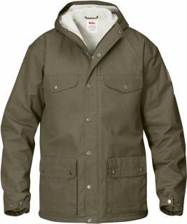 fjellreven greenland vinter jakke herre - taupe