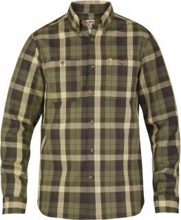fjellreven heavy twill shirt ls - kale