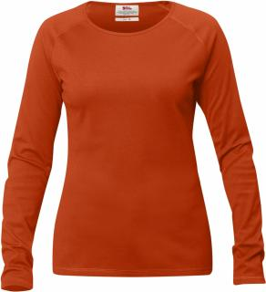 fjellreven high coast genser dame - flame orange