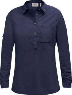 fjellreven high coast shirt ls dame - navy