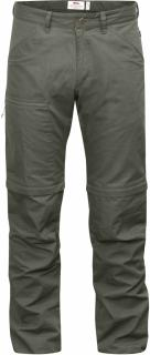 fjellreven high coast trousers zip-off - mountain grey