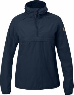 fjellreven high coast wind anorakk dame - navy