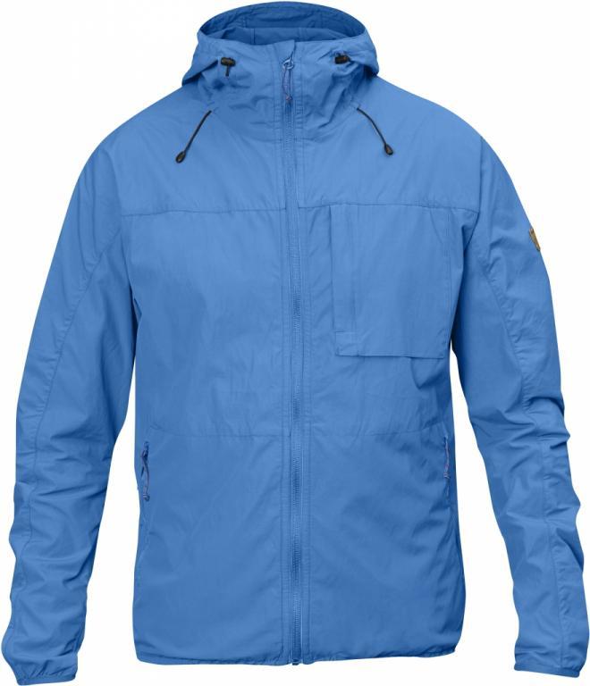 fjellreven high coast wind jakke - un blue