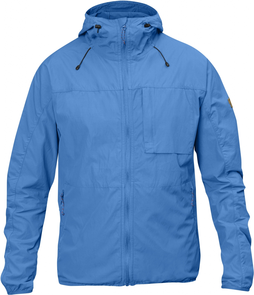 fjellreven high coast wind jakke - un blue