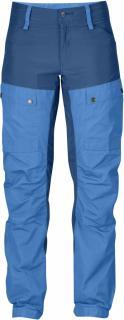 fjellreven keb bukse curved dame - un blue