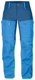 fjellreven keb gaiter trousers dame - un blue