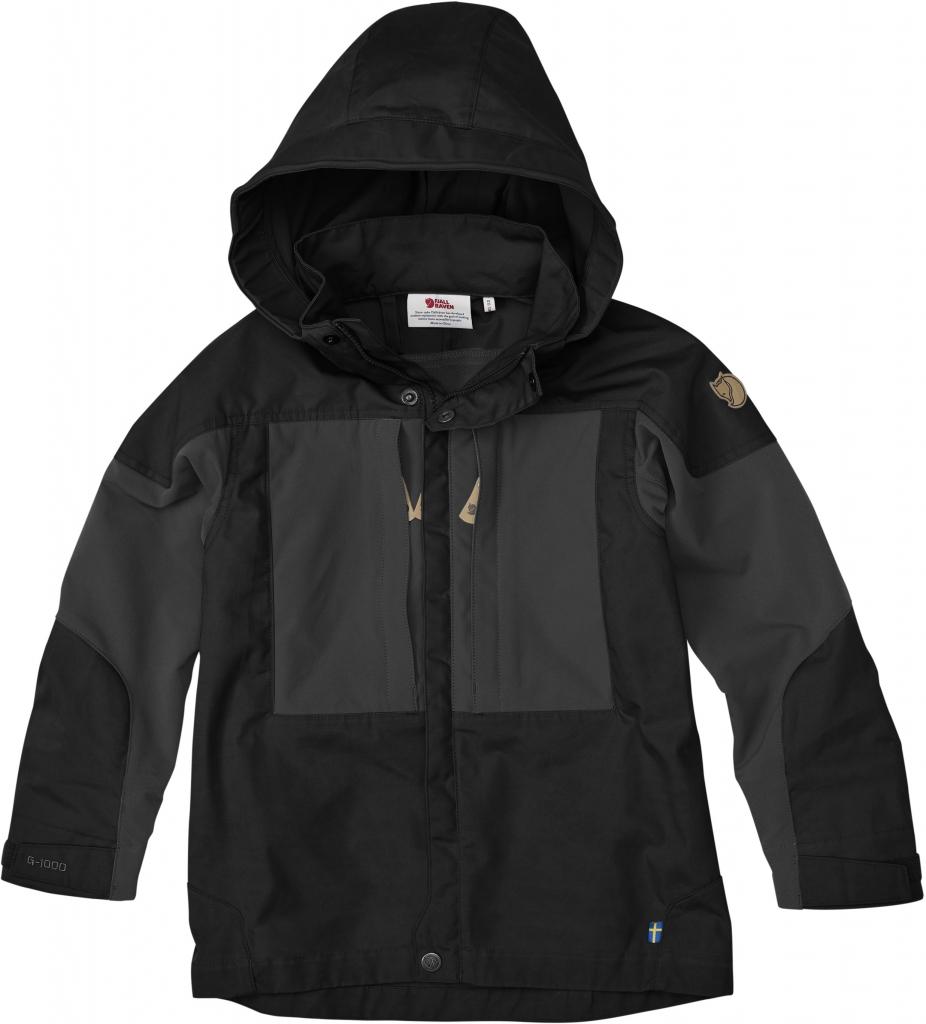 fjellreven keb jakke barn - black