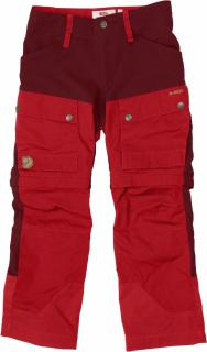 fjellreven kids keb gaiter bukse - ox red