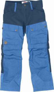 fjellreven kids keb gaiter bukse - un blue