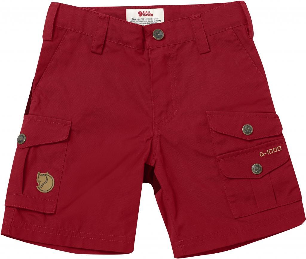 fjellreven kids vidda shorts - deep red
