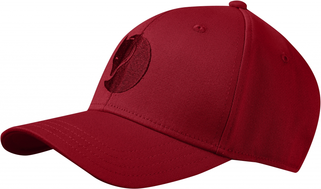 fjellreven kiruna flex cap - deep red