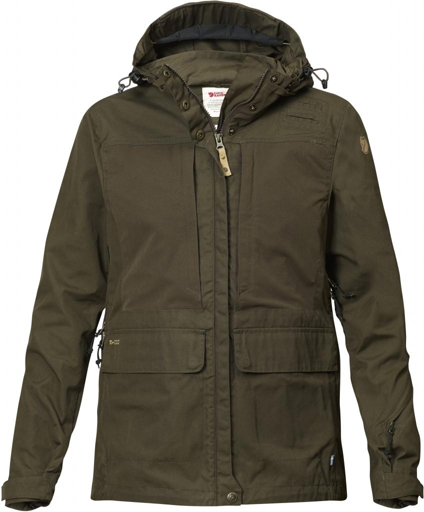 fjellreven lappland hybrid jakke dame - dark olive