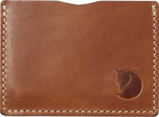 fjellreven Övik card holder - leather cognac