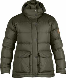 fjellreven Övik classic down jacket women - tarmac
