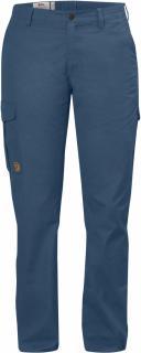 fjellreven Övik curved trousers w - uncle blue