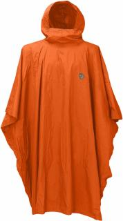 fjellreven poncho - safety orange