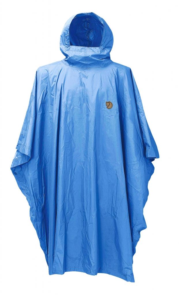 fjellreven poncho - un blue