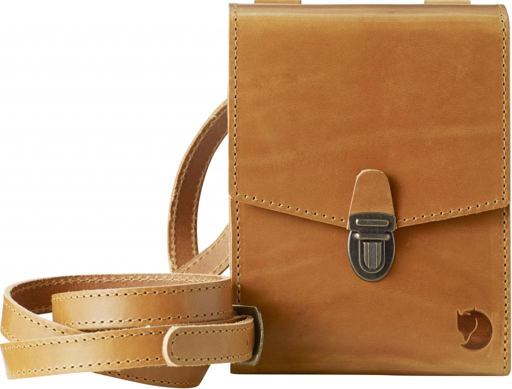 fjellreven sarek bino bag - leather cognac