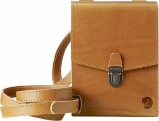 fjellreven sarek bino bag - leather cognac