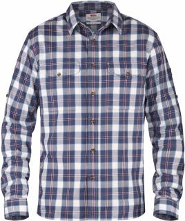 fjellreven sarek flannel shirt ls - uncle blue
