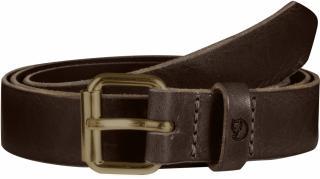 fjellreven singi belt 2,5 cm. - leather brown
