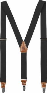fjellreven singi clip suspenders - dark grey