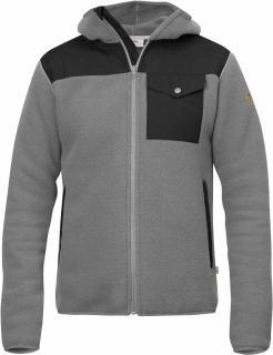 fjellreven singi fleece hoodie - grey