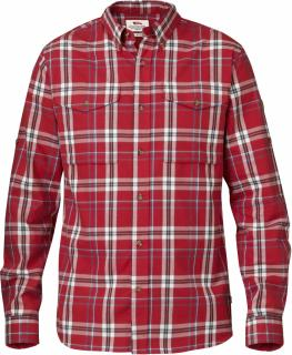 fjellreven singi shirt ls - red