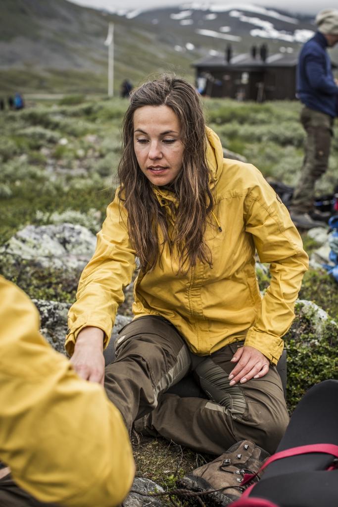 Fjellreven gul jakke | ladyfire