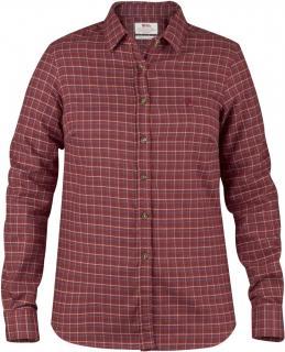 fjellreven sörmland flannel shirt ls w - autumn leaf