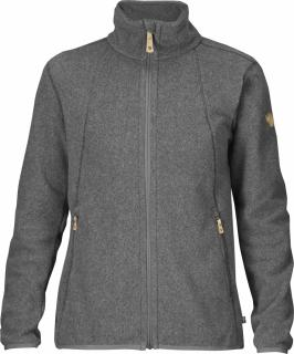 fjellreven stina fleece dame - dark grey