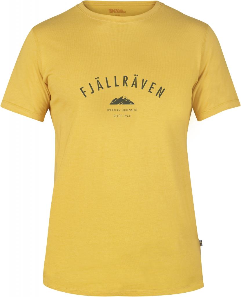fjellreven trekking equipment t-shirt - ochre