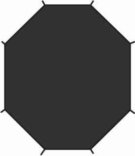 fjellreven view 2 footprint - black