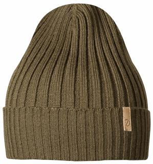fjellreven wool hat no. 1 - dark olive